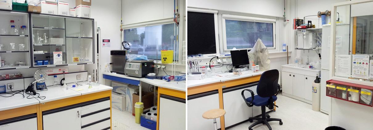 بخش های فنی آزمایشگاه
